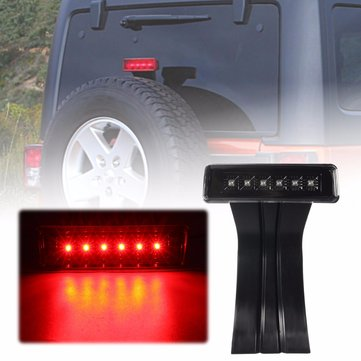 AutoLeader Fit for Jeep for Wrangler JK 07-15 Car LED 3rd Third Brake Rear Lamp Tail Light