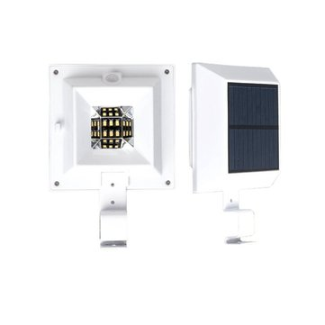 3W Solar Powered Sensor 6 LED Outdoor Fence Garden Security Patio Path Wall Light