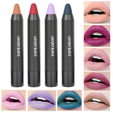12 Colors Nude Matte Velvet Lip Stick Pen