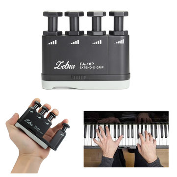 Zebra FA-10P Guitar Piano Finger Exerciser Grip Trainer Strengthener
