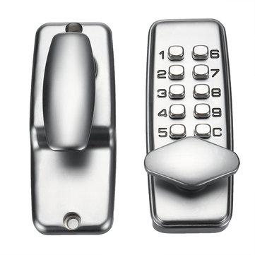 Mechanical Door Lock Keyless Keypad Digit Combination Lock Digital Password Code