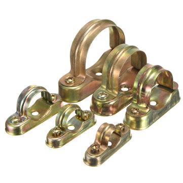 Brass Chrome Hospital Bracket Pipe Clip