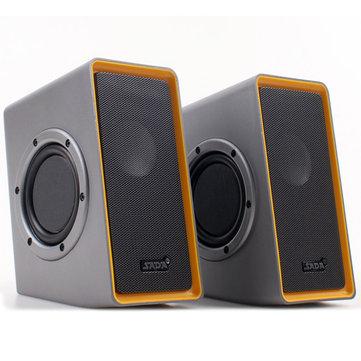SADAV151BilgisayarLaptopiçin2 Adet Mini Taşınabilir Hoparlör Stereo Ağır Bas Telefon