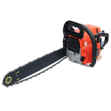 3800W Gas Gasoline Powered Chainsaw 62cc 2-stroke Gasoline Chain Saw Wood Pruning Cutting