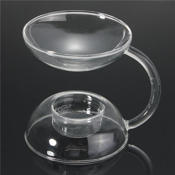 Glass Candle Stick Burner Warmer Stove Candle Holder