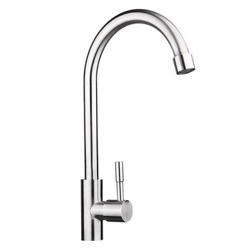 Kitchen Sink Faucet Spout Reverse Osmosis Tap Stainless Steel Drinking Water Filter