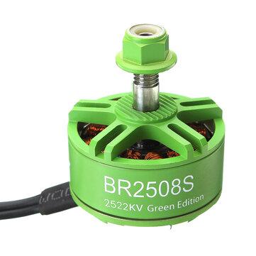 Racerstar 2508 BR2508S Green Edition 1275KV 1772KV 2522KV Brushless Motor For FPV Racing RC Drone