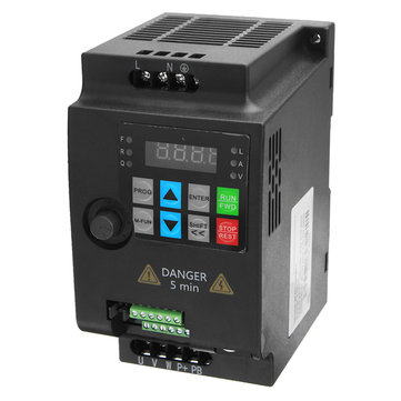 0.75KW 220V Variable Frequency Inverter Single Phase Input Three Phase Out Inverter