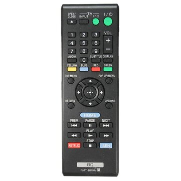 Blue Ray Remote Control RMT-B119A fit for Sony BDP-BX59 BDP-S390 BDP-S590