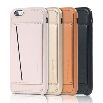 Remax Idea Series Card Holder Stand PU Leather Back Case For iPhone 6 6S