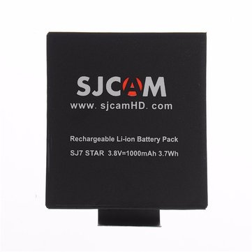 Original SJCAM 3.8V 1000mAh Li-ion Battery for SJCAM SJ7 STAR Action Camera