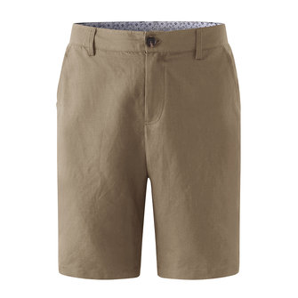 ChArmkpR Mens Cotton Linen Pure Color Casual Shorts