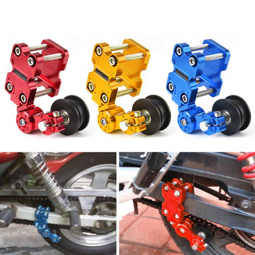 Motorcycle Aluminum Roller Chain Tensioner Adjuster For Dirt Pit Bike ATV