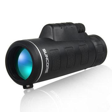 IPRee Traveller 10x40 Monocular Telescope HD Optic Zoom Lens High Definition Spotting View Eyepiece
