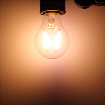 E27 A60 2W White/Warm White COB LED Filament Retro Edison Bulbs AC 220V