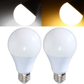 E27 8W 18 SMD 5730 LED Pure White Warm White Globe Lighting Bulb AC85-265V