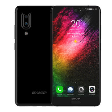 SHARP AQUOS S2 Plus 5.5 Inch Dual Camera 6GB RAM 128GB ROM Snapdragon 660 Octa Core 4G Smartphone