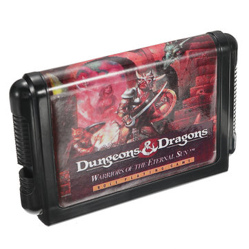 Dungeons and Dragons 16 bit MD Game Cartridge for SEGA MD Game MEGA DRIVE SEGA GENESIS