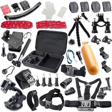 42 in 1 Floating Handle Grip Tripod Gopro Accessories Kit for Gopro Hero Sjcam Xiaomi Xiaoyi