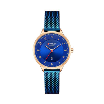 CURREN 9035 Date Display Simple Design Women Wrist Watch