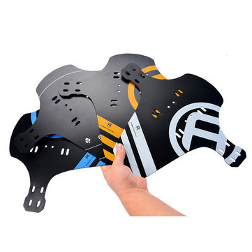 BIKIGHT MTB Bike Front Back Mudguard Marsh Cycling Bike Fender For Front Fork/Rear Wheel