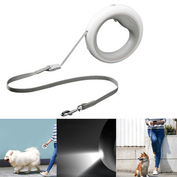 XIAOMI MOESTAR UFO 2.6m Retractable Dog Leash With Rechargeable Night Light