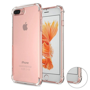 Air Cushion Corners Soft TPU Transparent Case For iPhone 7 Plus/8 Plus
