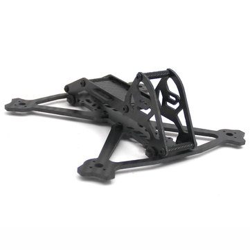 Acro 3 Inch 164mm Wheelbase 3mm Arm Carbon Fiber FPV Racing Frame Kit 52.4g