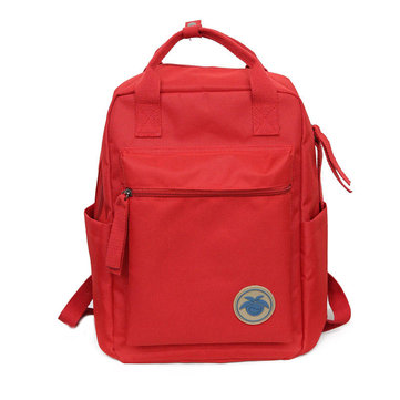 10L Canvas Backpack Student Bag Camping Waterproof Handbag 14 Inch Laptop Bag