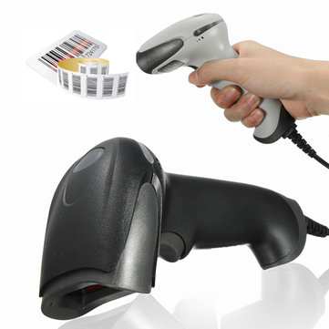 Wired Handheld USB Automatic Barcode Scanner USB Laser Scanner Barcode Reader POS