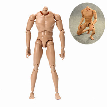 10.63'' 27cm 1/6 Action Figure Body Upgrade Model Toy Gift Collection Ball Joint Posture Adjustable