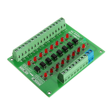 8 Channel 12V To 3.3V Optocoupler Isolation Module PLC Signal Level Voltage Conversion Board NPN Output DST-1R8P-N