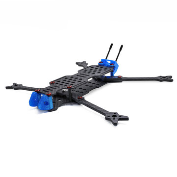GEPRC GEP-LC7 315mm Wheelbase 6 / 7 Inch 5mm Arm Carbon Fiber Frame Kit 153g for RC Drone FPV Racing