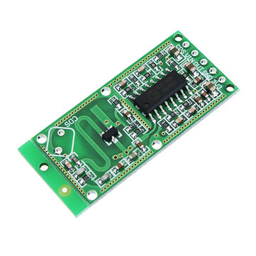 RCWL-0516 RCWL 0516 Microwave Radar Sensor Human Sensor Body Sensor Module Induction Switch Module Output 3.3V