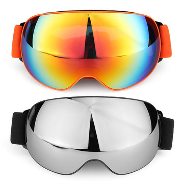 TYX77 Outdoor Skiing Skating Goggles Snowmobile Glasses Windproof Anti-Fog UV Protection For Men Women Snow Sports Goggles