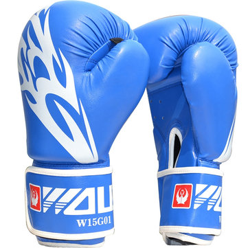 Adults Men Boxing Gloves MMA Muay Thai Boxe De Luva Mitts Sanda Equipments Taekwondo Protector