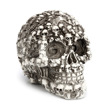 Skulls Head Model Dark Fantasy Horror Gothic Skull Party Ornament Decorations Gift