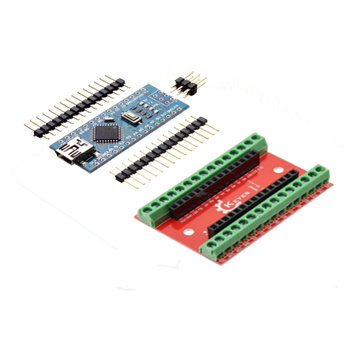 NANO IO Shield Expansion Board + ATmega328P Nano V3 Controller For Arduino