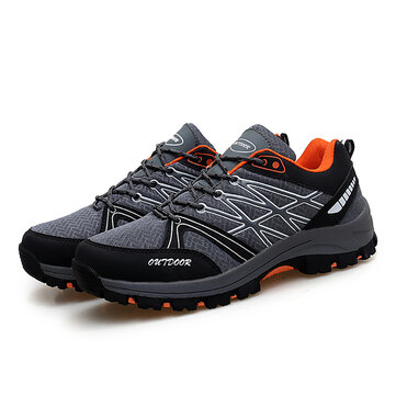Men Soft Comfy Outdoor Hiking Running Mesh Sneakers