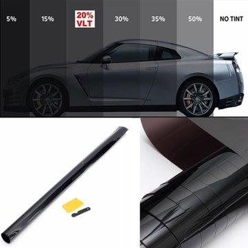 3м х 75см 20% автомобиль авто ван Пленка для тонирования стекол OneWay зеркало тонировка фольги