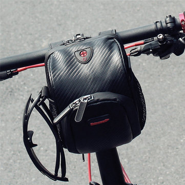 RHINOWALK Waterproof Large Capacity Bicycle Bike Handlebar Storage Bag for Samsung Mobile Phone