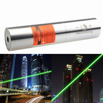 U King ZQ-J12L 520nm Green Laser Pointer Light Power Beam Burning Laser Suit With EU Charger