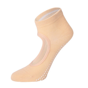 Women Breathable Cotton Non-slip Invisible Yoga Socks