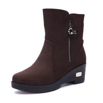 Large Size Winter Women Snow Boots Warm Ankle Boots