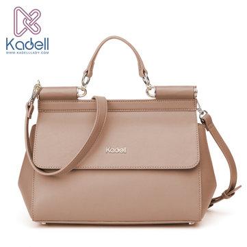 Kadell Elegant Doctor Packet of Camel Hair Handbag Crossbody