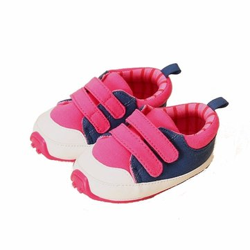 Newborn Baby Boy Girl Breathable Soft Sole First Walking Sports Shoes