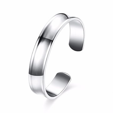 Simple Unisex Bracelet Silver Plated Women Men Bracelet