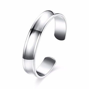 Simple Unisex Bracelet Silver Plated Women Men Bracelet