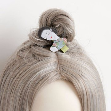 Retro Hair Clip Children Girl's Vintage China Women Hair Jewelry Clip
