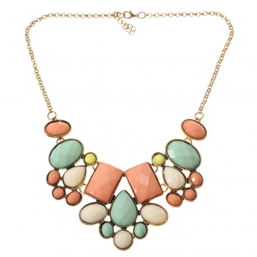 Vintage Crystal Alloy Necklace